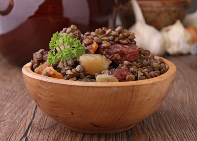 Creative ways with  Brown Lentils
