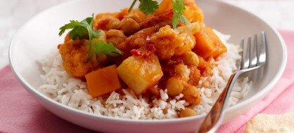 Chickpea & Pumpkin Curry